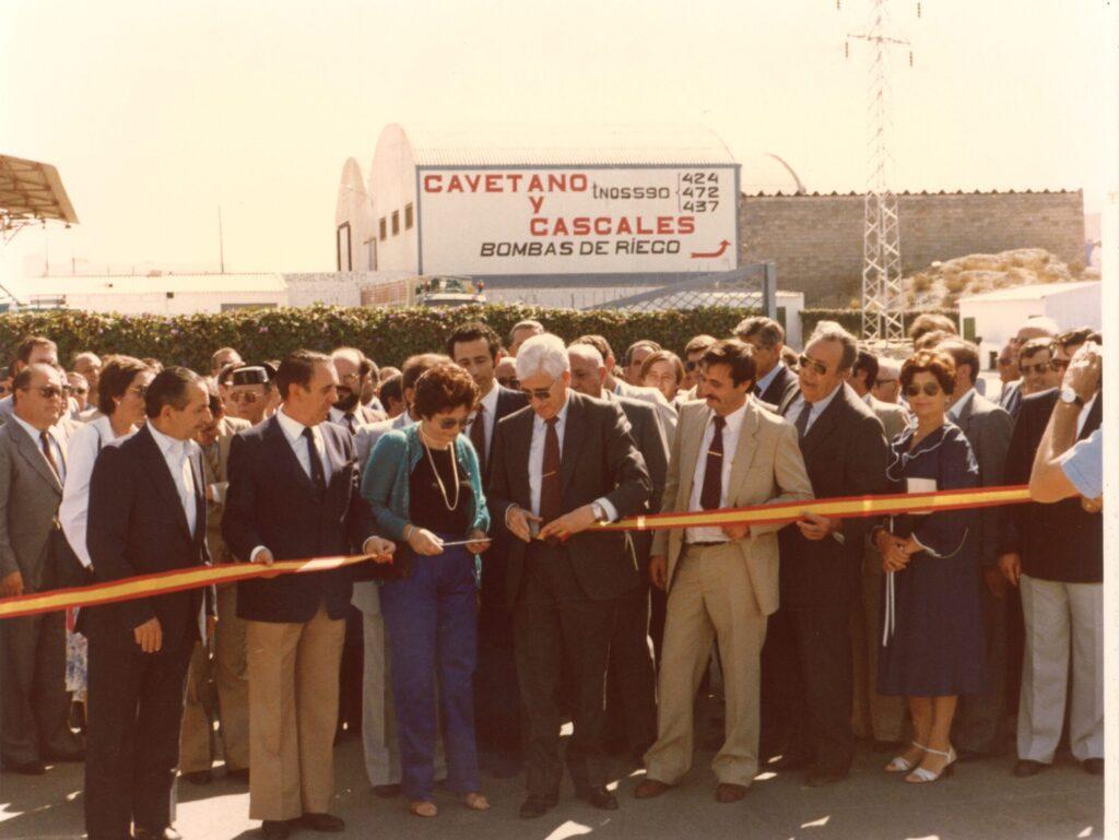Inauguración Hernández Zamora 1995
